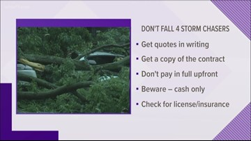 Don't fall 4 it: Scams to watch out for after severe weather