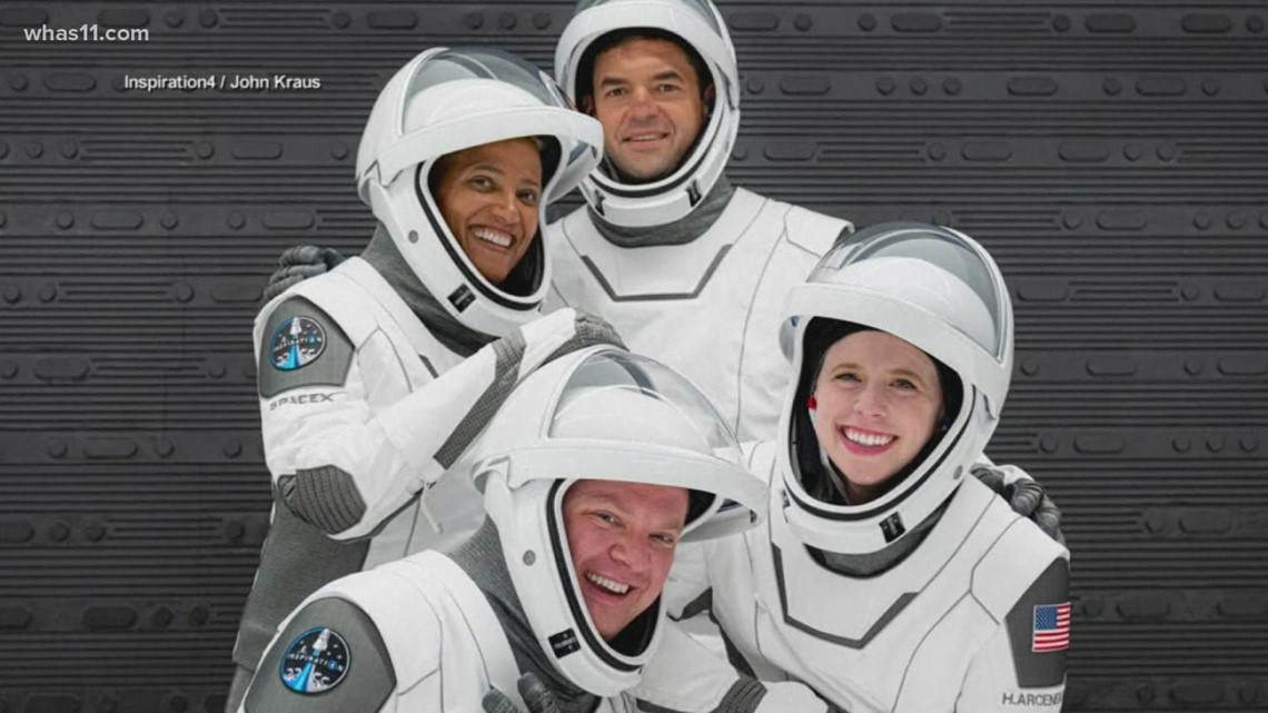 SpaceX to send 1st all-civilian crew into orbit for 3 days onboard Inspiration4