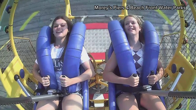 Watch: Seagull hits teen in the face while on NJ amusement park ride