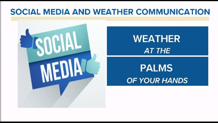 StormTeam Blog: Social media and weather communication