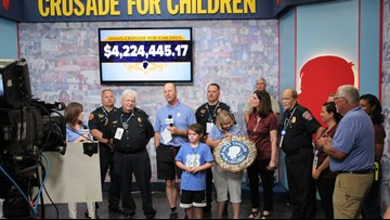 WHAS11 receives Pinnacle Award for WHAS Crusade for Children advocacy