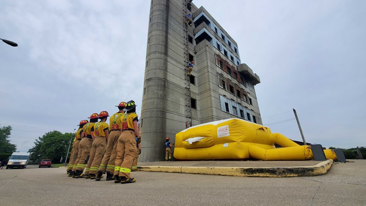 Breaking barriers with Louisville's largest class of firefighter recruits