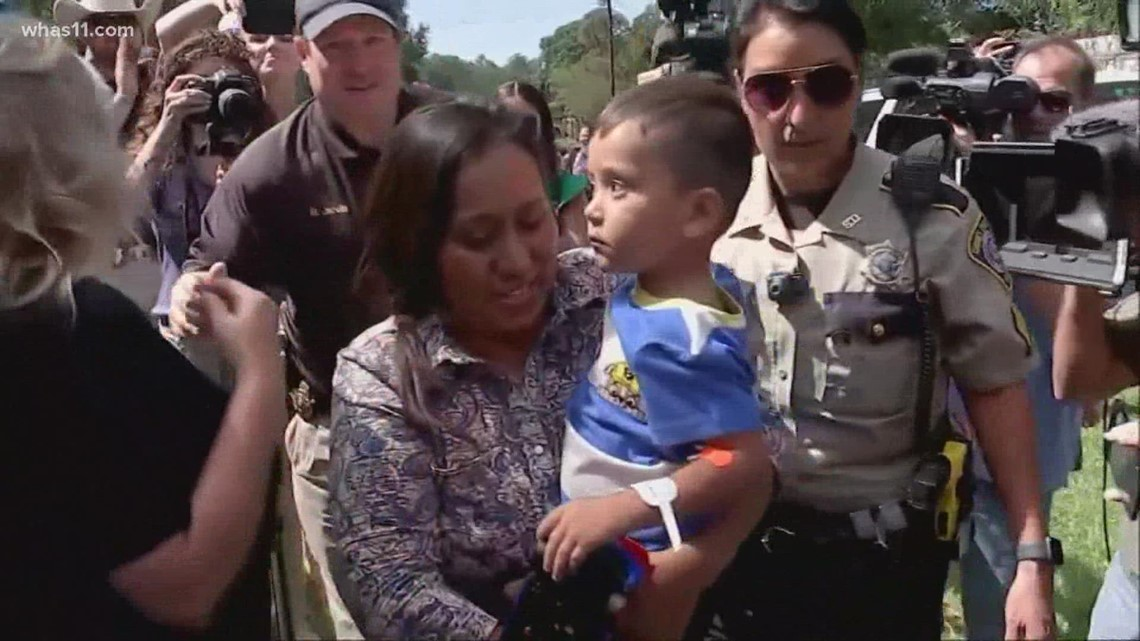 Texas boy missing 3 days reunited with mother