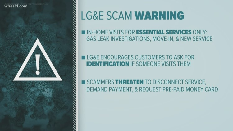 LG&E warns of utility scammers