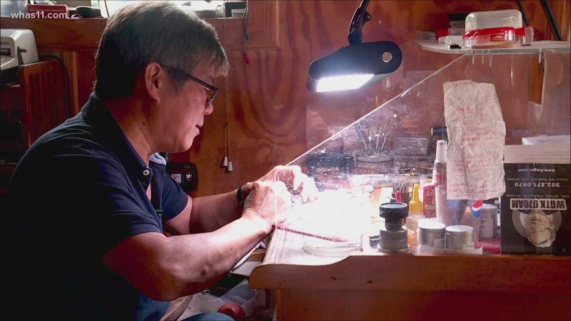 Taiwanese immigrant turns clockwork passion into career