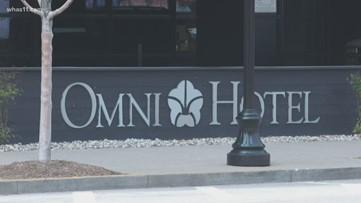 Omni Hotel closes amid slowdown