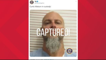 Escaped Tennessee inmate is in custody: TBI