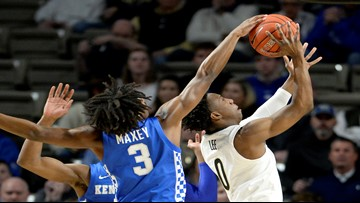 No. 12 Kentucky rallies from 14 down, beats Vanderbilt 78-64