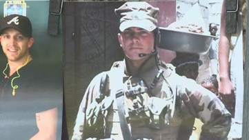 Marine finds healing in helping others