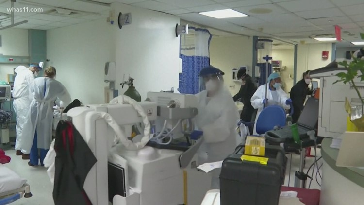 As COVID-19 cases rise, hospitals fear being overwhelmed and health officials push vaccinations