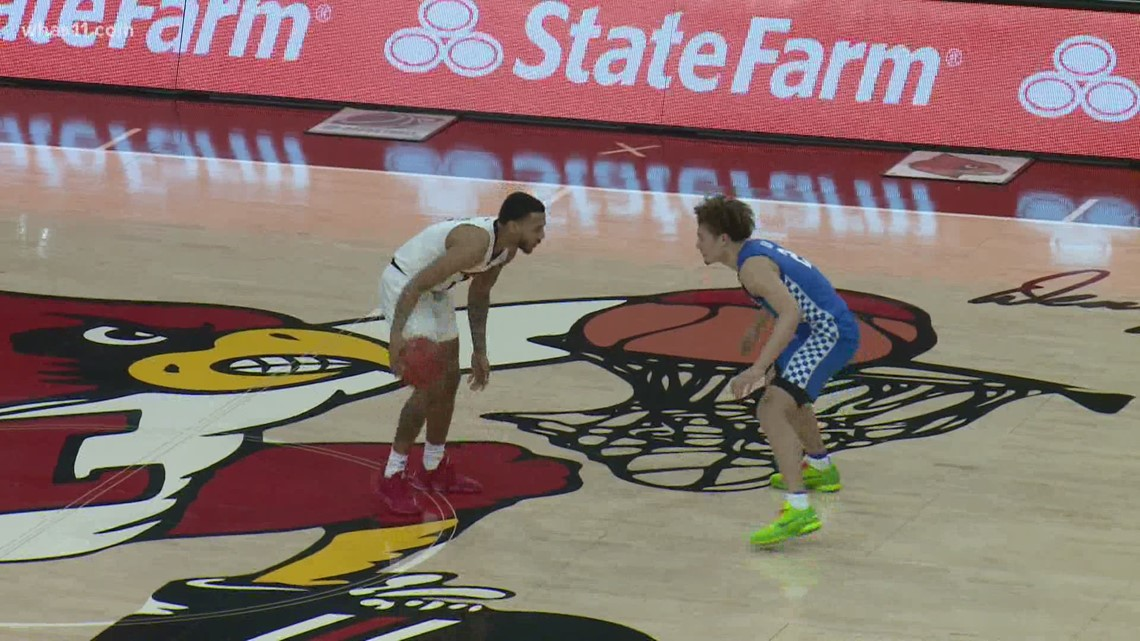 Louisville's guards lead the Cards to victory over UK