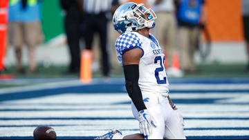 Benny Snell's career with Kentucky comes to a storybook ending