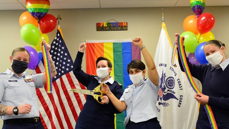 PHOTOS | Promoting Pride: Coast Guard Alaska affinity group advocates for inclusivity