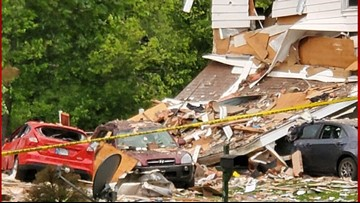 911 audio released in Jeffersonville home explosion