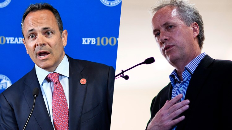 Mayor Greg Fischer on recent gun violence, back-and-forth with Gov  Matt  Bevin
