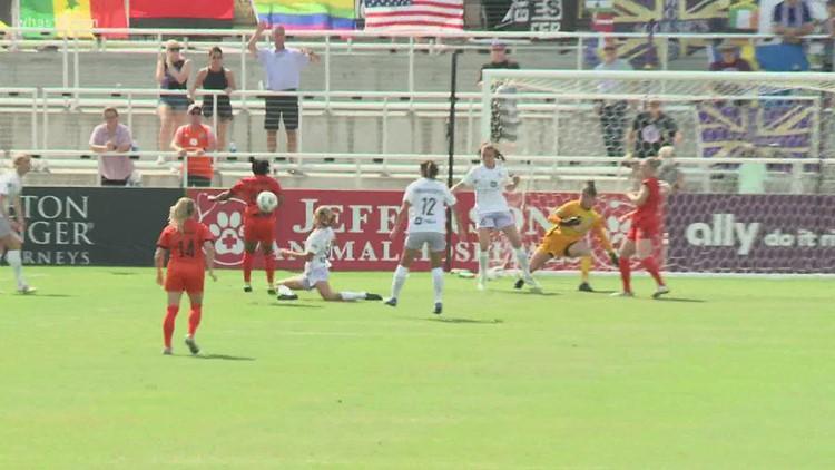 Salmon's fancy footwork leads Racing Louisville FC past Houston Dash 1-0