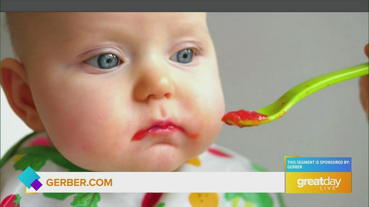 GDL: Transitioning babies to solid foods with Gerber