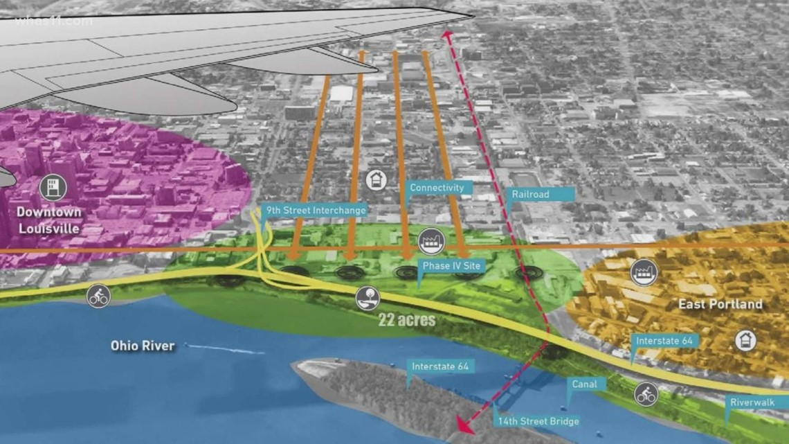 Waterfront Park beginning fourth phase of expansion