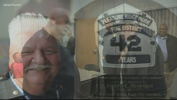 Crusade firefighter retires after 42