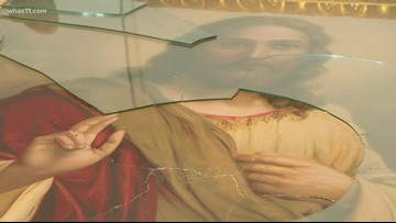 Two Eastview churches vandalized, items stolen