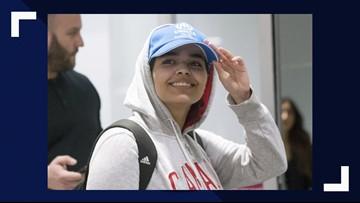 Runaway Saudi woman reaches her new home in Canada