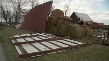 Indiana family recovers from tornado damage