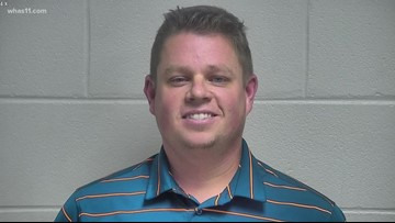 Former LMPD officer Kenneth Betts back in jail