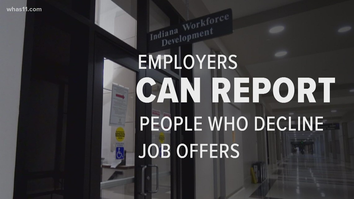 VERIFY: Yes, employers can report job offer refusals to the state