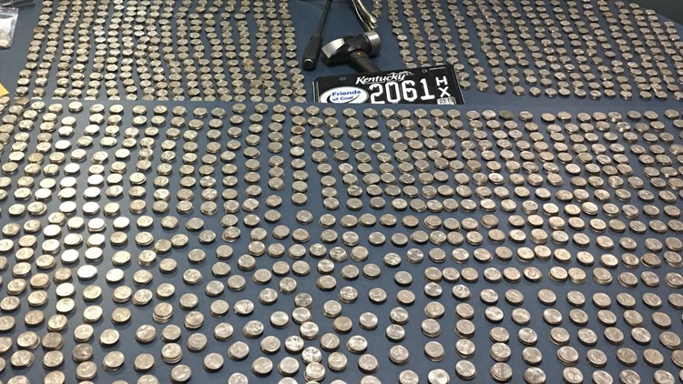 More than $1.4K in stolen quarters recovered by Lexington police