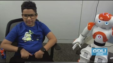 Robots help children with autism learn more readily