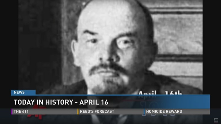 Today in history: April 16, 2016