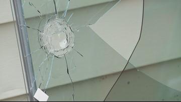 Bullet soars straight through woman's home in rural neighborhood