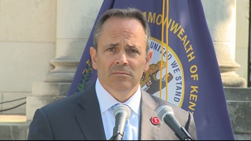 Kentucky's outgoing GOP governor leaving with parting shots