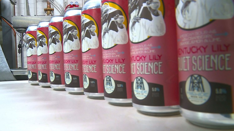 Cans of Kentucky Lily Quiet Science