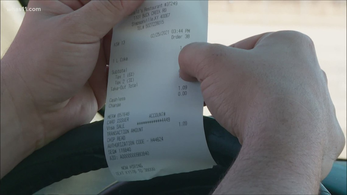 Hidden sales tax fixed on receipts after FOCUS investigation