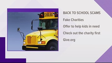 Don't Fall 4 It: Back to School scams and more you need to look out for