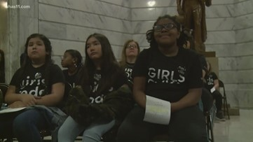 Girls who code rally in Frankfort