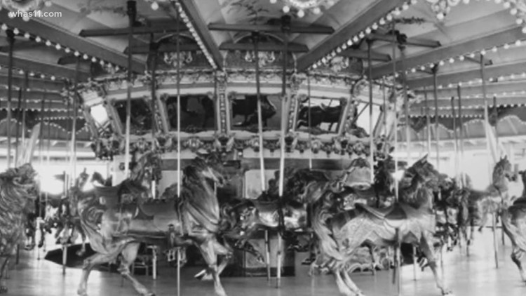 'If I ride it, I hope it erases the memories': Historic Fontaine Ferry Carousel could return to Louisville
