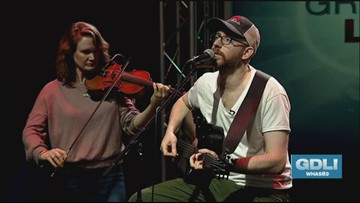 Kyle Zornes performs on GDL