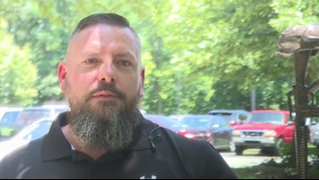 Veterans need treatment, not fireworks yard sign
