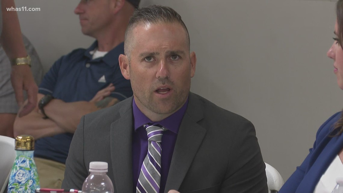 Former acting LMPD chief testifies in hearing for fired Detective Joshua Jaynes