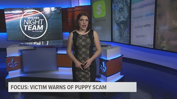 Victim warns of online puppy scam
