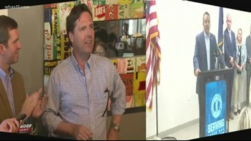 Beshear and Bevin in hot battle for governor's race