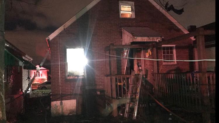 Earl Avenue House fire