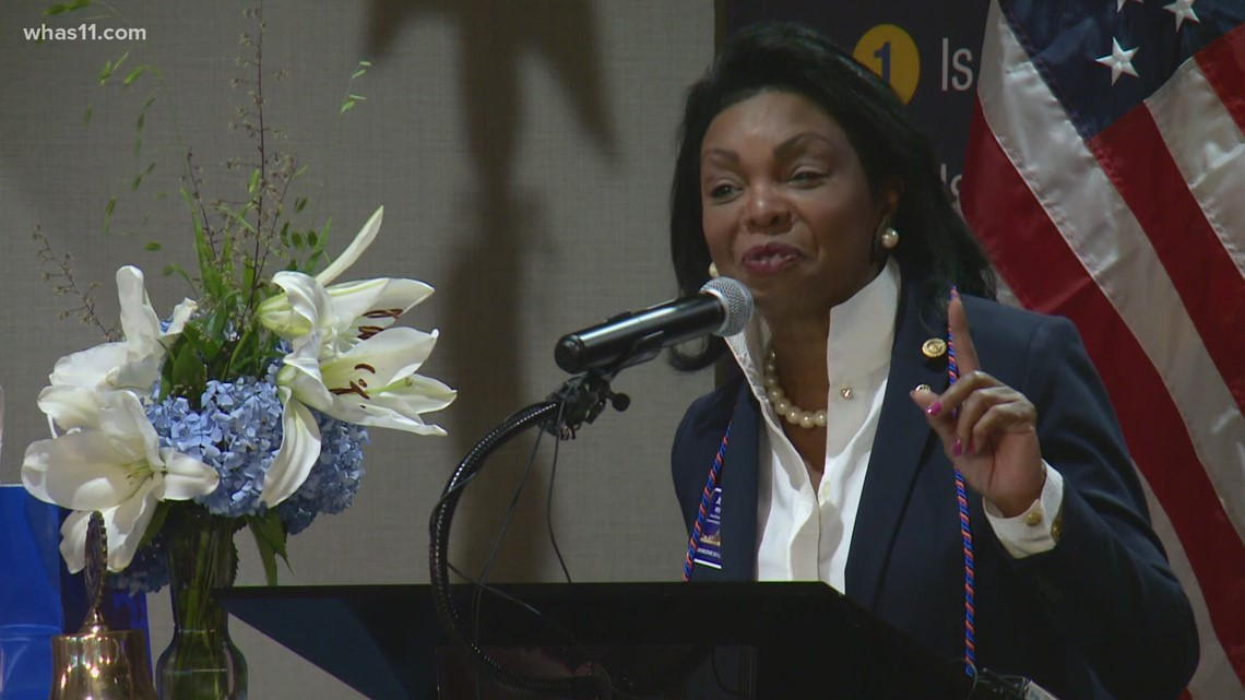 Former WHAS11 anchor Jean West starts tenure as first Black president of Louisville's Rotary Club