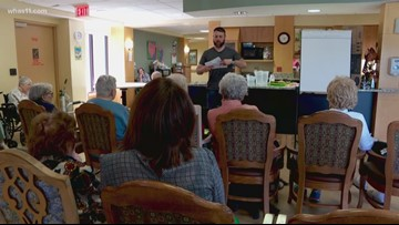 Storytelling helping memory care patients