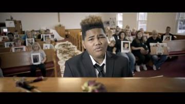 Musician captures devastation of suicide in emotional video