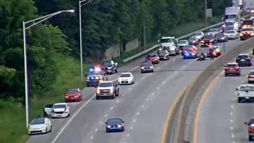 Lanes back open after crash on I-65N