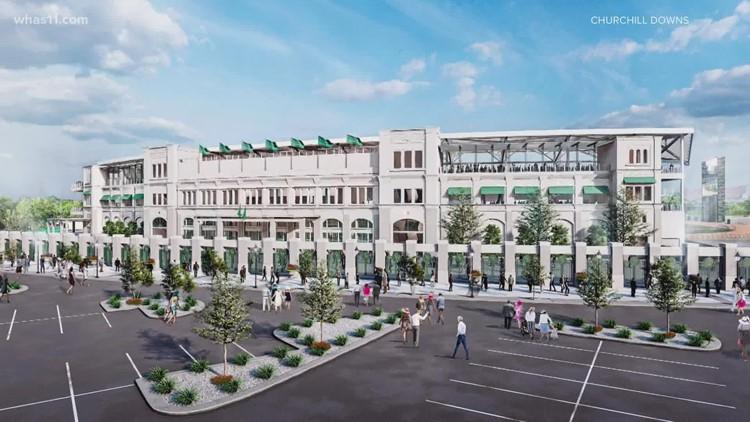 Churchill Downs announces major renovations, upgrades a racetrack, gaming facility