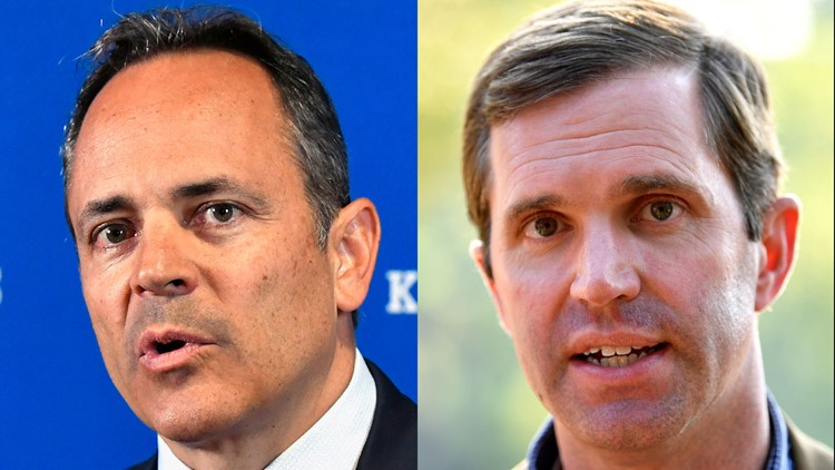 Bevin and Beshear tied in latest poll